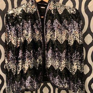 Jackets & Blazers - L.Magnin Sequin Blazer